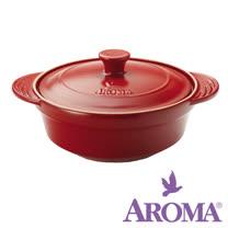 美國AROMA DoveWare 頂級手工燉煮鍋 ADC-102 3.0qt 紅 一只