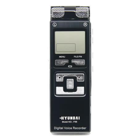 HYUNDAI F86 數碼錄音筆 MP3 4GB -加送襪套