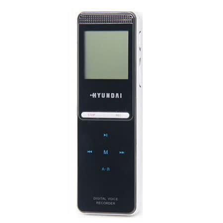 HYUNDAI F88 數碼錄音筆 MP3 4GB-加送襪套
