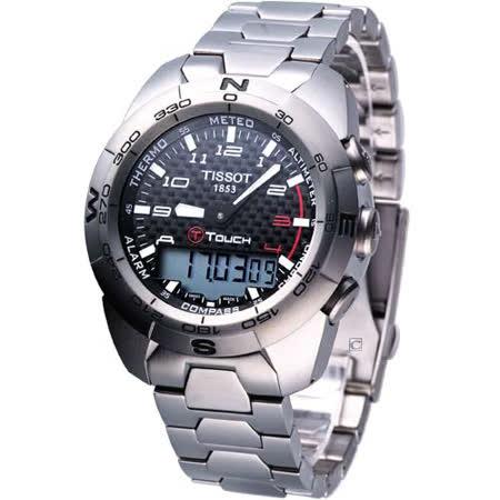 TISSOT T-Touch Expert 專業級觸控感應腕錶T01342044202