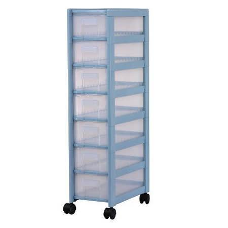 檔案櫃~收納櫃~AL07好幫手7層櫃附輪~1入