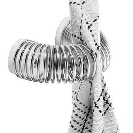 《NUANCE》創意毛巾圈環夾(白)