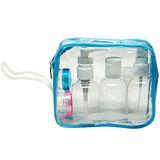 7件式噴壓瓶旅行沐浴盥洗套組(3879)