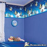Disney【阿拉丁】夜光牆飾大彩帶(DHL02)