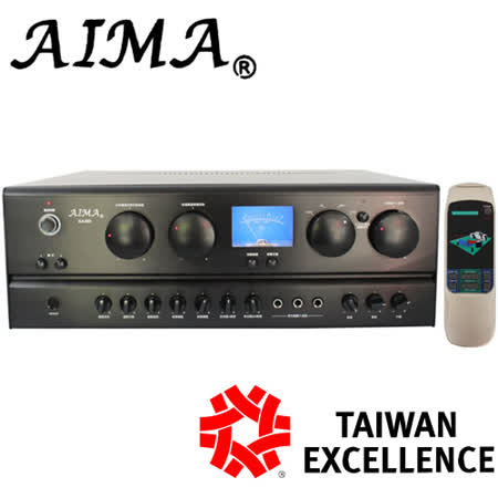 AIMA 5.1聲道影音卡拉OK綜合擴大機(KA-569) 送動圈式有線麥克風(EDM-F1)*2