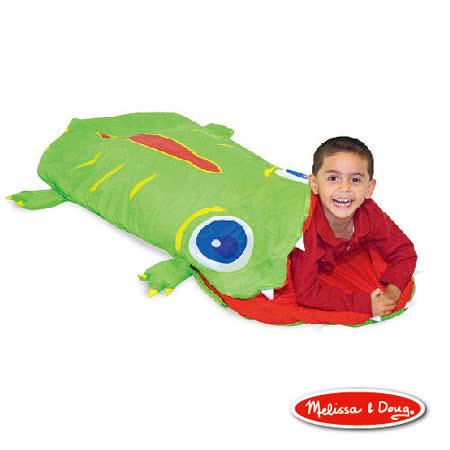 美國 Melissa & Doug 小鱷魚奧吉舒眠睡袋