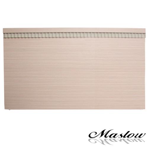 【Maslow-白橡線條】雙人床頭片-5尺