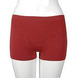 【LACOYA 】 Cool Max女平口褲(CP966-3紅)-2件