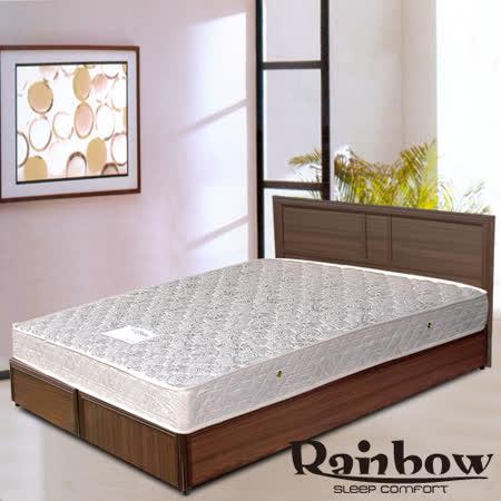 RB -輕鬆家居(胡桃)木製床架-雙人(不含床墊)