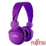 富士通 MA-11 智慧型手機用耳罩式耳機麥克風【紫色】