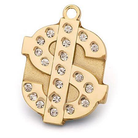 【開箱心得分享】gohappy 線上快樂購澳洲品牌Hamish McBeth Dollar Bling Bling 水晶吊牌 (金色)價格大 遠 百貨 台中