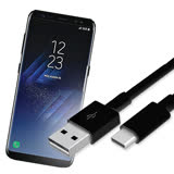 三星原廠SAMSUNG Galaxy S8+/S8 Plus USB Type C/QC2.0 NOTE8高速傳輸充電線(平輸密封包裝)EP-DG950CBE