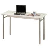 經典簡易工作桌/電腦桌(時尚白)