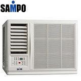 SAMPO 聲寶4-6坪左吹旗艦型系列定頻窗型冷氣(AW-P20R1)送安裝★七年保固