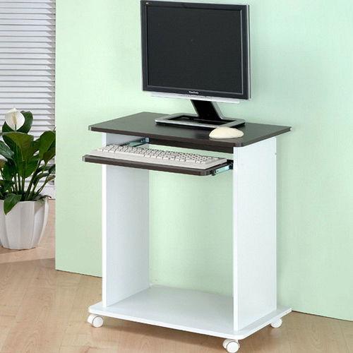 日式 雙色電腦桌