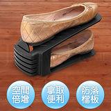(好黑皮)魔術空間鞋架14件組送充氣靴撐2雙