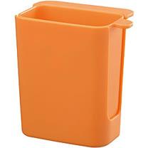 《A3》Out 吸盤式垃圾盒(橘)