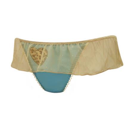 【瑪登瑪朵】FA0138-2 魔俏V II  低腰丁字棉褲(純淨藍)