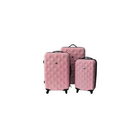 BEAR BOX 時尚香奈兒★PC亮面可愛旅行箱~超值三件組