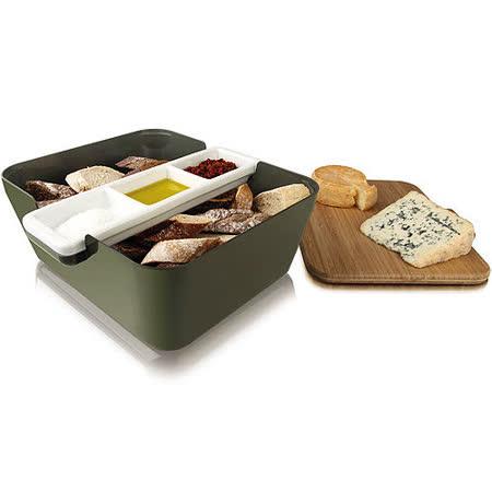 《VACU VIN》Bread 麵包收納盒+醬碟組