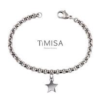 【TiMISA】幸運風之戀(S) 純鈦手鍊