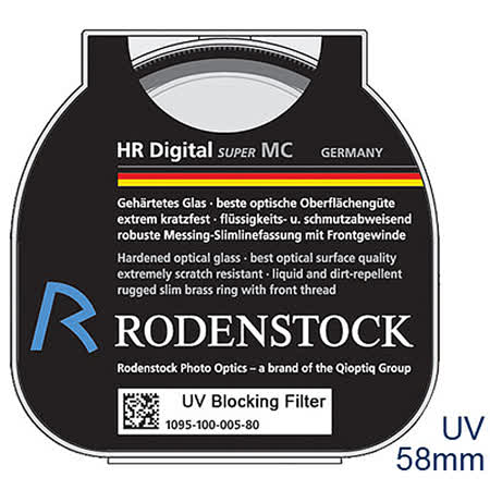 RODENSTOCK HR系列UV數位濾鏡_ HR Digital UV Filter M58
