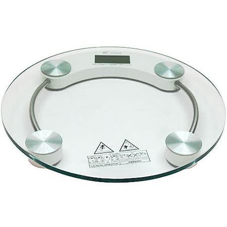 圓型150公斤厚鋼化玻璃體重計(2003A)