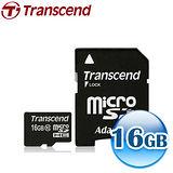 創見 16GB microSDHC Class10 記憶卡-附轉卡