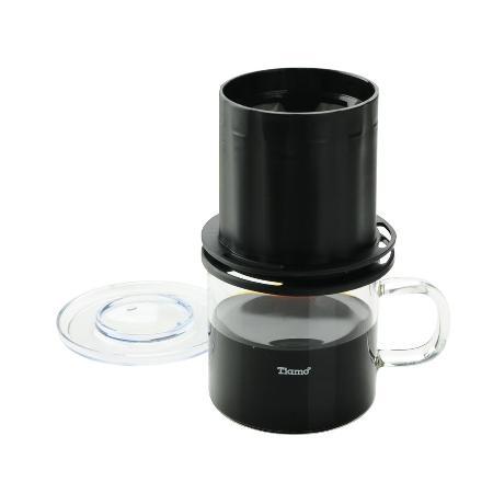 Tiamo UFO-180 極細濾網獨享杯 320cc (黑色) HG2322