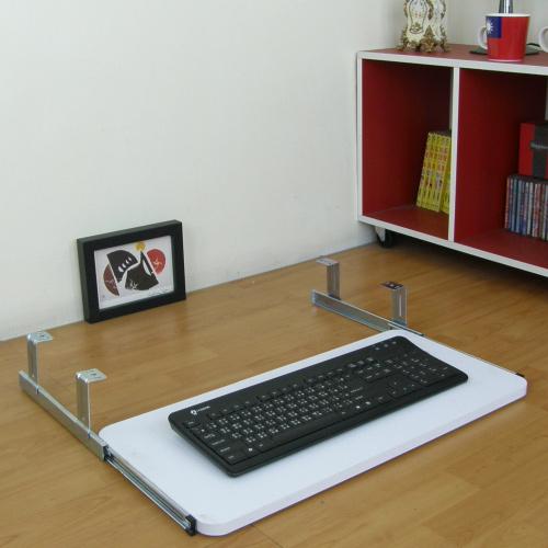 鍵盤架耐用堅固型2入組(二色可選)-臺灣製造30D×60Wx8H公分-