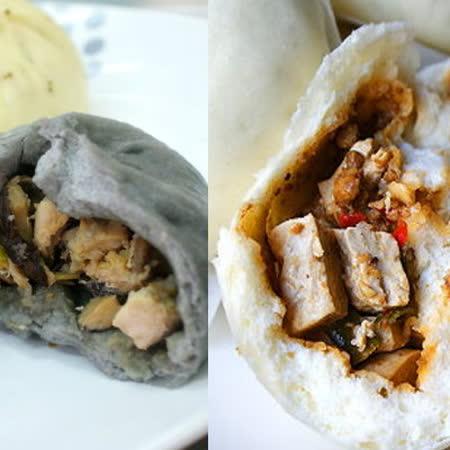 【犒吆包】 ※創新肉包※ 竹炭香菇雞(10入)+麻婆豆腐包(10入)(含運)