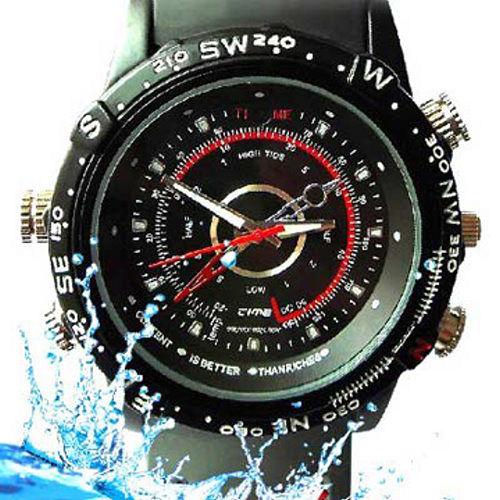 HDDV  拍攝錄影音手錶 8GB _ 運動防水型