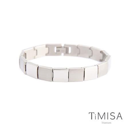 【TiMISA】陽光森林-寬版 純鈦鍺手鍊