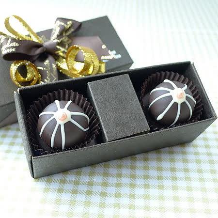 JOYCE巧克力工房【彈跳松露巧克力禮盒-二入禮盒】
