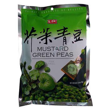 盛香珍芥茉青豆240g