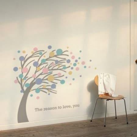 【ORIENTAL高品質進口壁貼】Romantic tree 家飾裝潢無痕系列