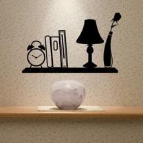 【ORIENTAL高品質進口壁貼】Wide shelf 家飾裝潢無痕系列