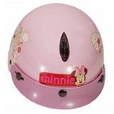 小米妮幼兒專用機車安全帽(粉紅)