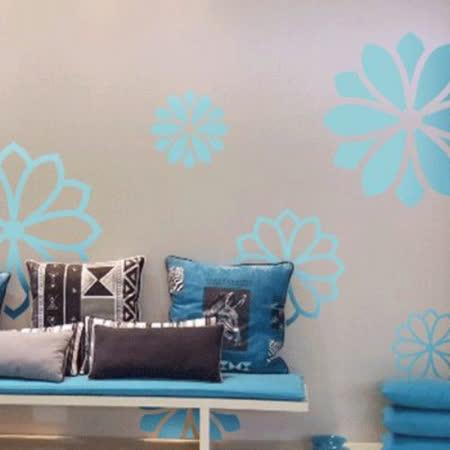 【ORIENTAL高品質進口壁貼】Flower02 家飾裝潢無痕系列