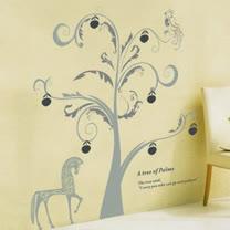 【ORIENTAL高品質進口壁貼】Tree of Palme 家飾裝潢無痕系列