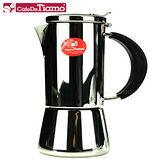 CafeDeTiamo 全新18-10不鏽鋼摩卡壺-四杯份 HA2285