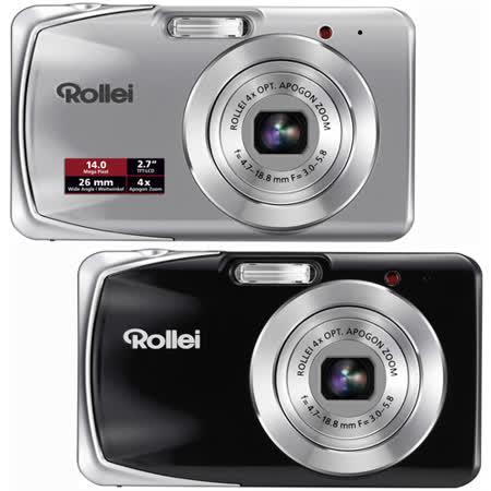 德國祿來Rollei Powerflex 440 1.4千萬畫素26mm廣角數位相機
