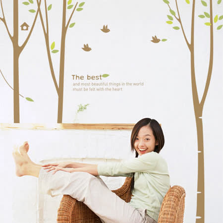 【Design W 壁貼】質優 Song for forest