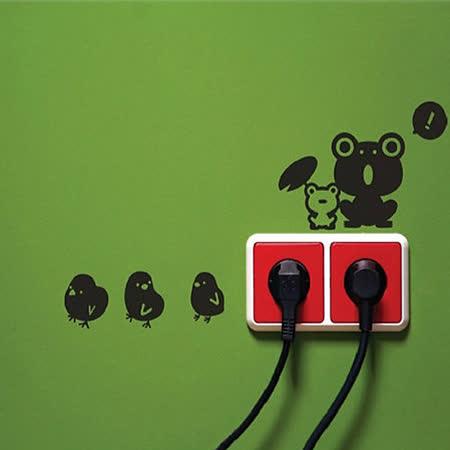 Design W 壁貼】質優 Switch animal (4款一組)