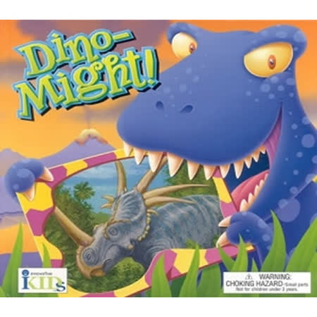 Dino-Might (Groovy Tube Book)