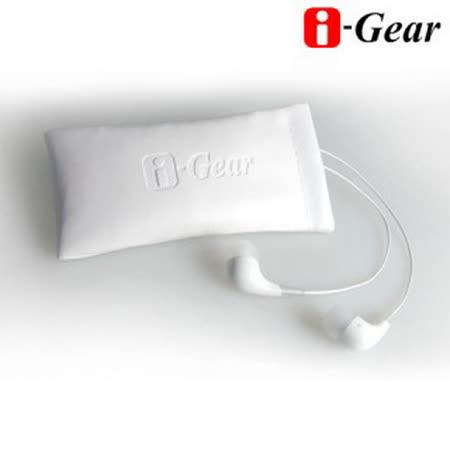i-Gear 筆電專用高音質入耳式耳機麥克風(白)