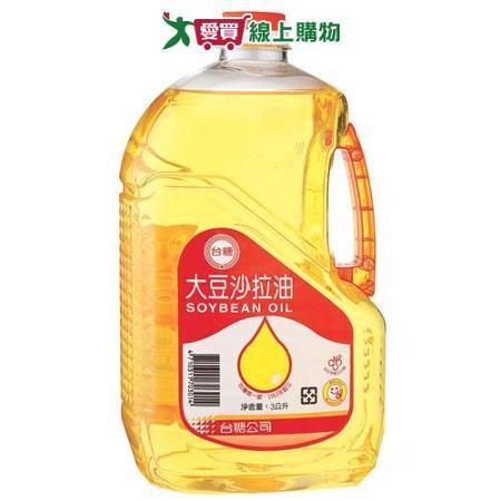 台糖大豆沙拉油3L