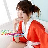 【Ladymotion】社長!穿這樣上班不好吧!♥日系紅色藝伎和服♥ 藝伎和服系列