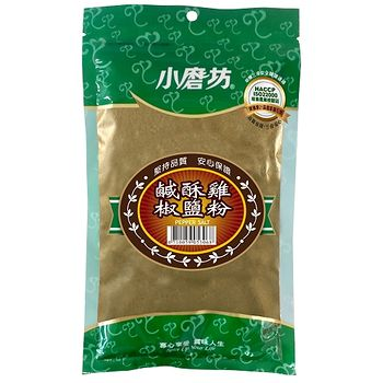 小磨坊鹹酥雞椒鹽粉300G/包