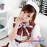 【Ladymotion】主人奉侍!♥日系蘇格蘭花色♥ 女傭系列